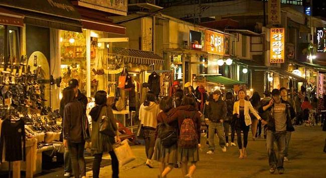 nhung dia diem vui choi ve dem o Seoul - Han Quoc 1