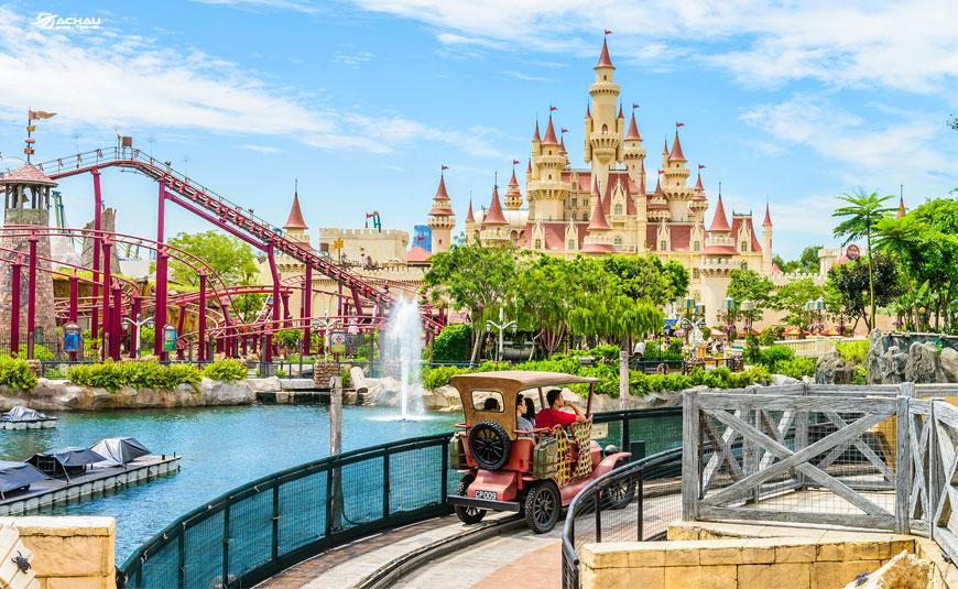 5 công viên nổi tiếng Châu Á tô màu mùa hè của trẻ em trong dịp hè