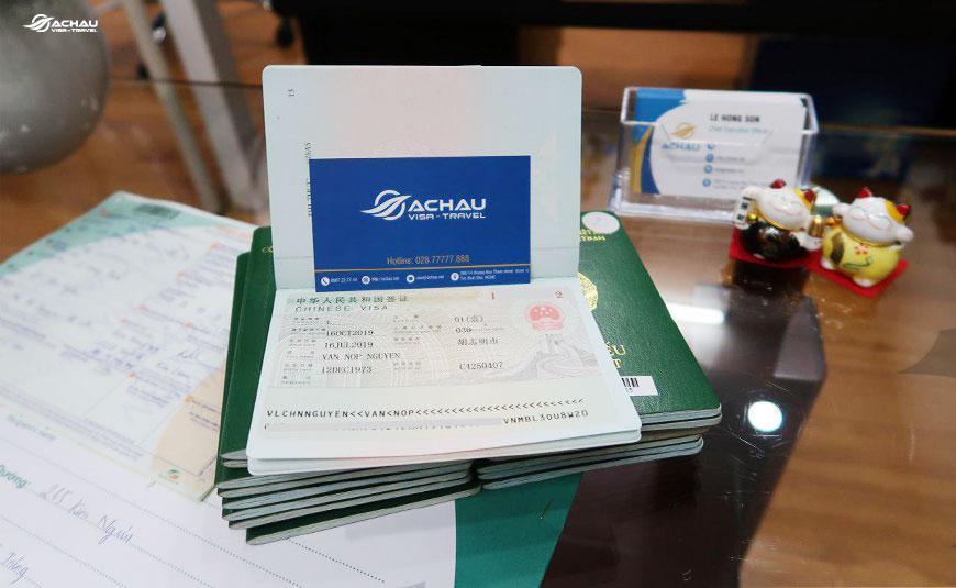Dịch vụ xin visa Trung Quốc diện du lịch