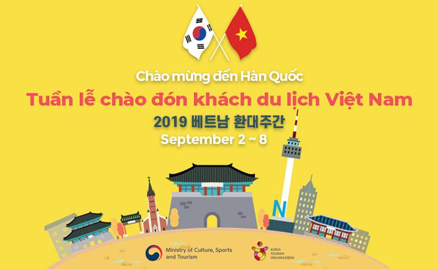 Hàn Quốc tổ chức tuần lễ đặc biệt chào đón khách du lịch Việt Nam
