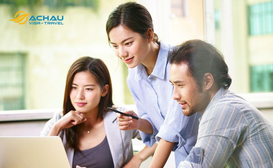 Dịch vụ xin visa Đài Loan công tác