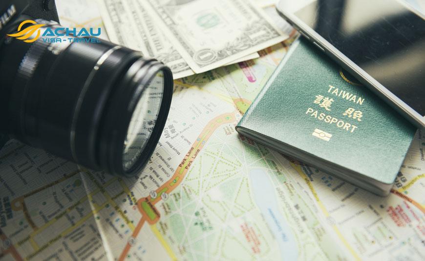 Quy trình xin visa Đài Loan du lịch