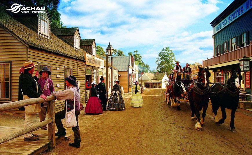 Tour du lịch liên tuyến mới lạ: Melbourne - Ballarat -  Brunei  2
