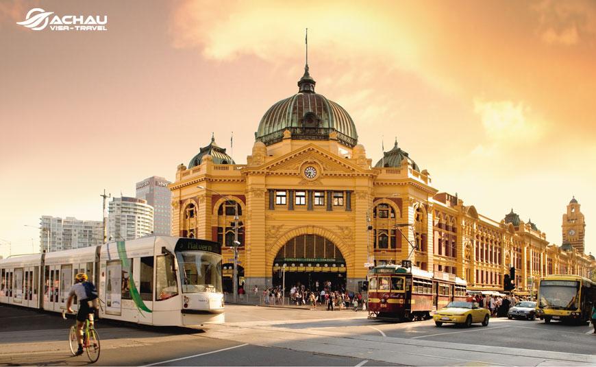 Du hành đến những thành phố du lịch nước Úc: Melbourne - Ballarat – Sydney
