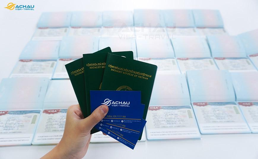 Xin visa Hàn Quốc thăm thân 2