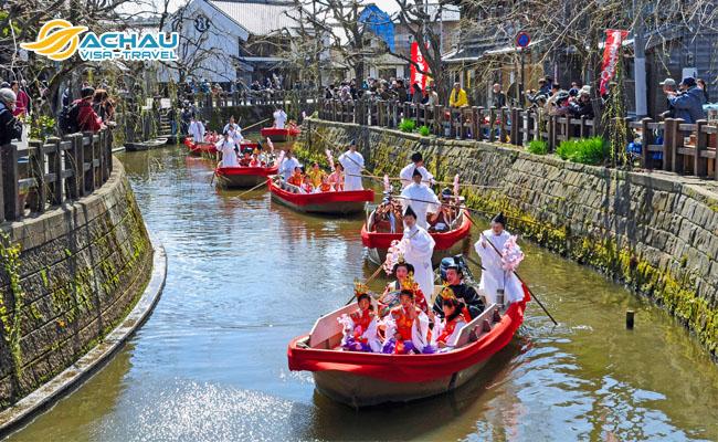 thị trấn Sawara – Nhật Bản 1