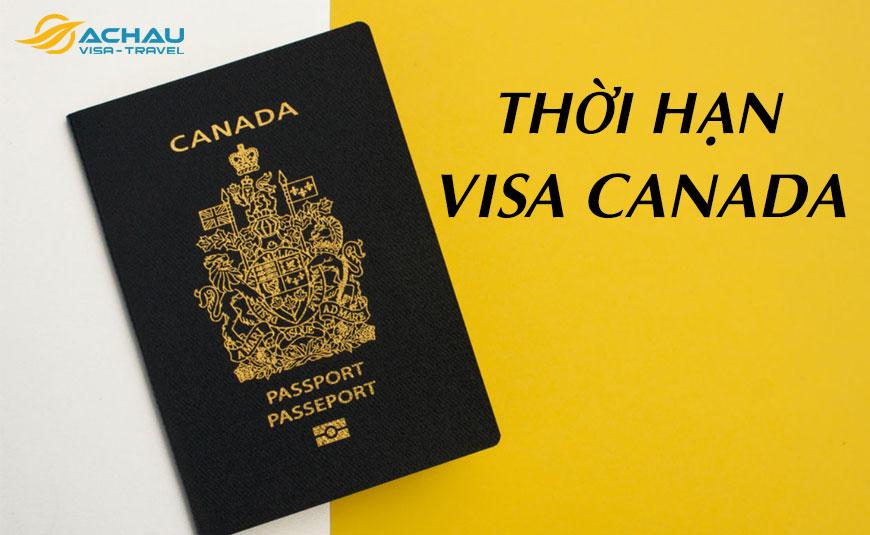 thời hạn của visa Canada