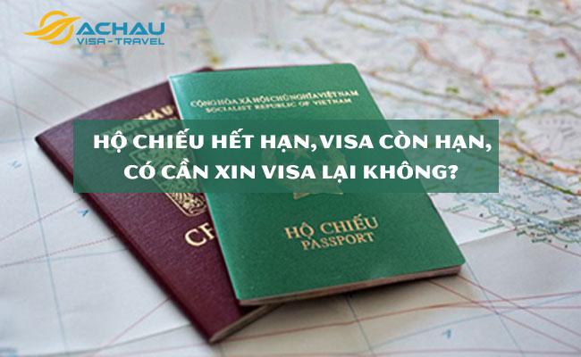 Có cần xin lại visa du lịch Úc (còn hạn) khi hộ chiếu sắp hết hạn?
