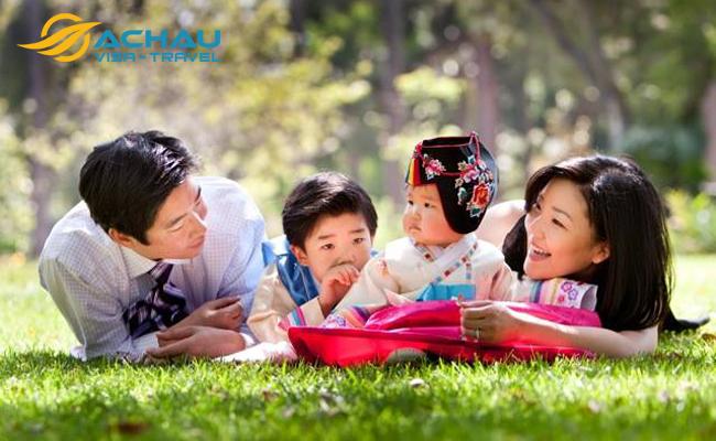 xin visa thăm thân Hàn Quốc 2