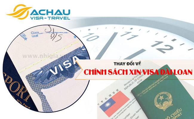 Đài Loan thức thay đổi quy định xin visa đối với Việt Nam