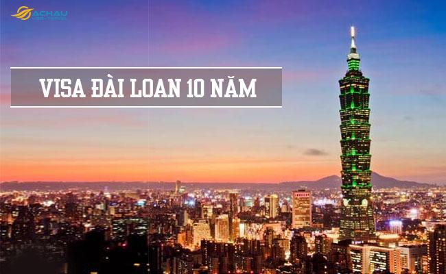 phân việt visa Đài Loan thường và visa Đài Loan 10 năm 2