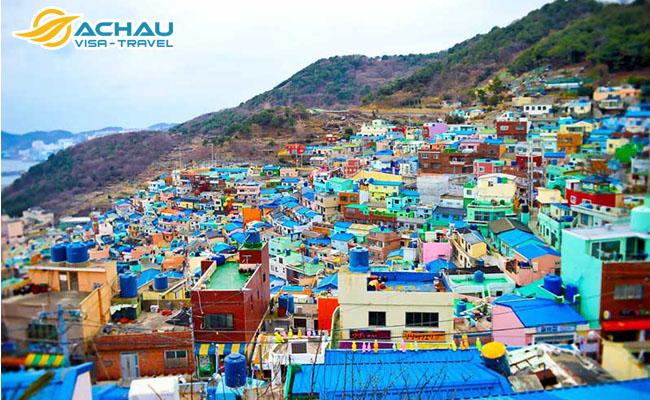 """3 Ngôi làng """"sống ảo"""" ở Hàn Quốc cực đẹp không nên bỏ qua  8"""