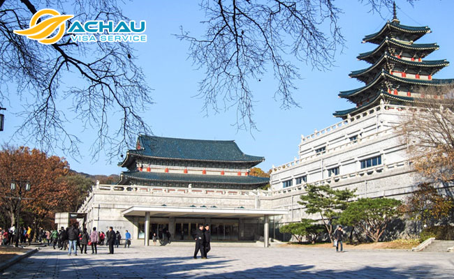 Cung điện Gyeongbok-gung 1