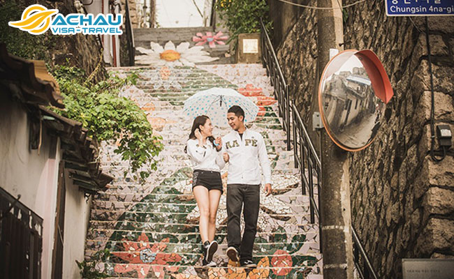 """3 Ngôi làng """"sống ảo"""" ở Hàn Quốc cực đẹp không nên bỏ qua"""