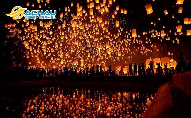 check-in 3 lễ hội thả đèn trời lớn nhất Châu Á này!