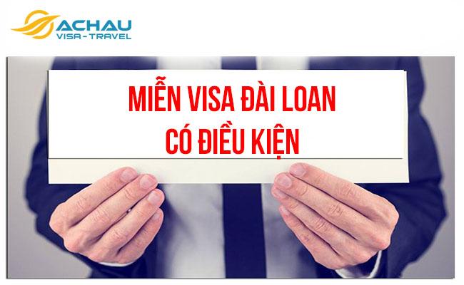 Đối tượng nào được miễn visa Đài Loan? 2