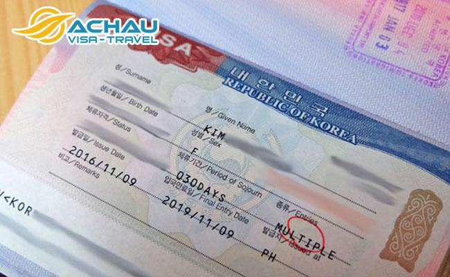 Xin visa du lịch Hàn Quốc – dễ hay khó? 3