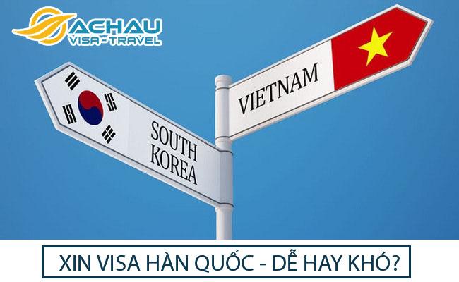 Xin visa du lịch Hàn Quốc – dễ hay khó?