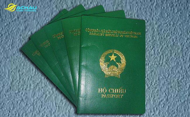 hộ chiếu Việt Nam 2