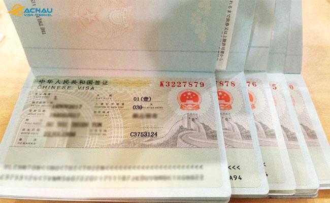visa Trung Quốc 3