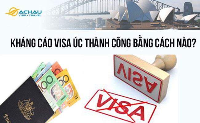 kháng cáo visa Úc