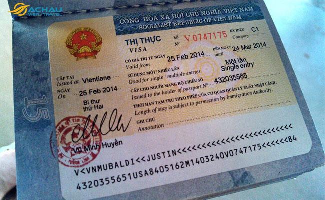 passport và visa