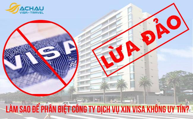 công ty dịch vụ xin visa