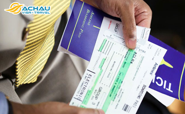 Hồ sơ xin visa Đài Loan không có vé may bay được không?  1