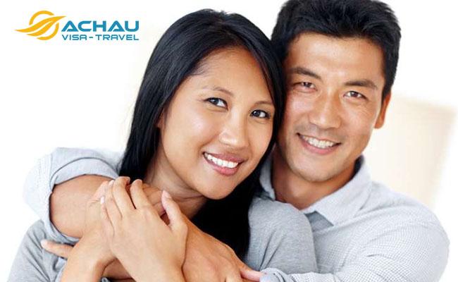 Sang Mỹ để thăm chồng thì xin visa gì?1