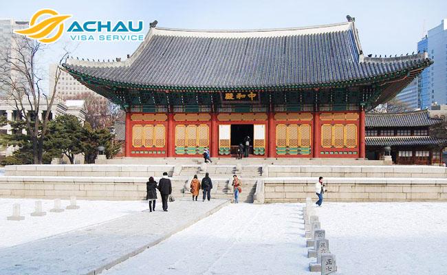 Cung điện Deoksu-gung 1