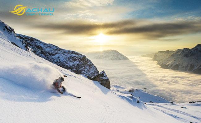 khu trượt tuyết đẹp nhất thế giới