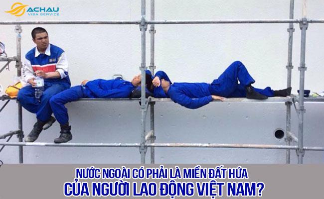 Nước ngoài có phải là miền đất hứa cho người lao động Việt Nam?
