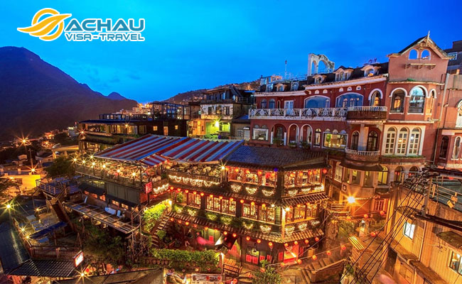 làng cổ Cửu Phần và làng cổ Thập Phần ở Đài Loan 3