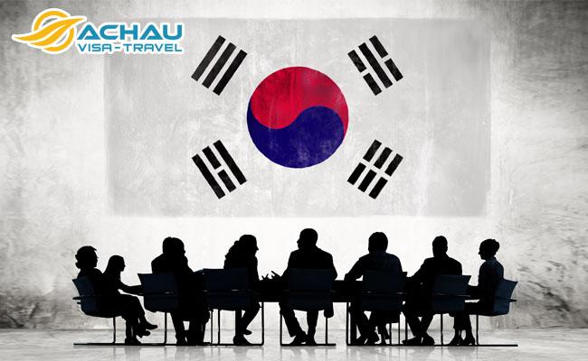 Thủ tục visa công tác Hàn Quốc 2