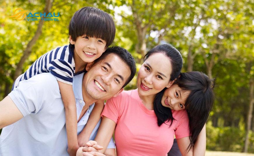 Hồ sơ xin visa để đi thăm người thân ở Đài Loan