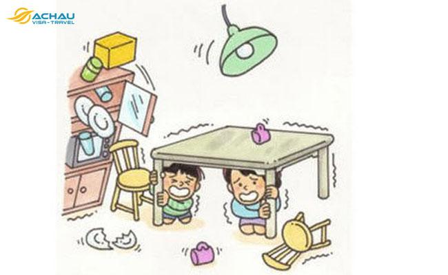 Phải làm gì nếu gặp động đất khi đang đi du lịch nước ngoài?