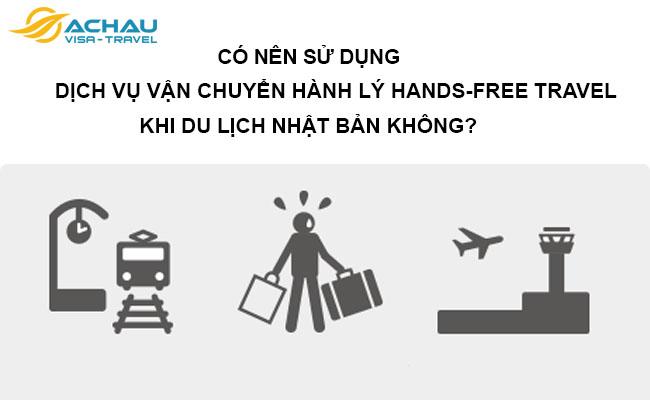 Có nên sử dụng dịch vụ vận chuyển hành lý Hands-free travel khi du lịch Nhật Bản không?