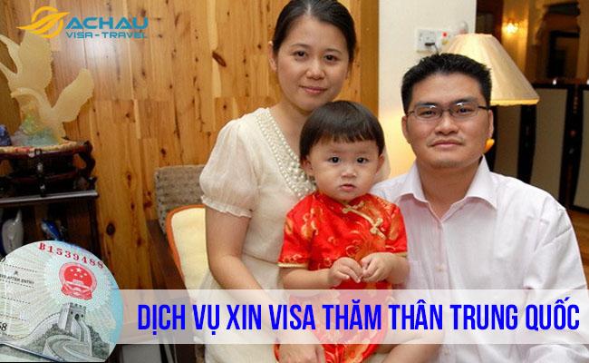 xin visa thăm thân Trung Quốc  2