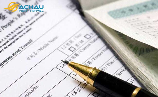 Lý do nào khiến hồ sơ xin visa Trung Quốc bị từ chối? 2