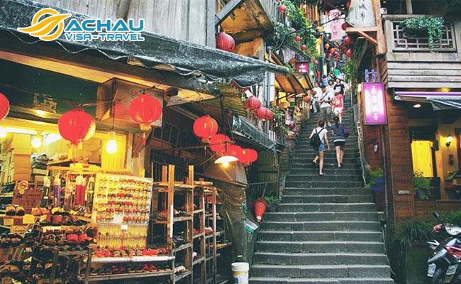 làng cổ Cửu Phần và làng cổ Thập Phần ở Đài Loan 2