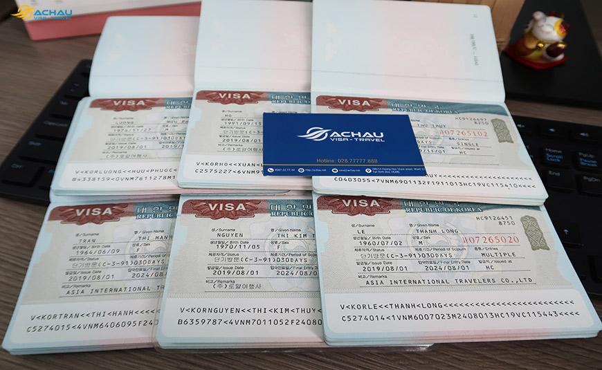 Visa Hàn Quốc Multiple là gì
