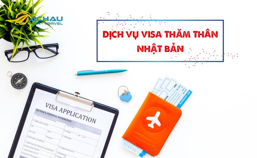 Thủ tục xin visa Nhật Bản thăm người thân