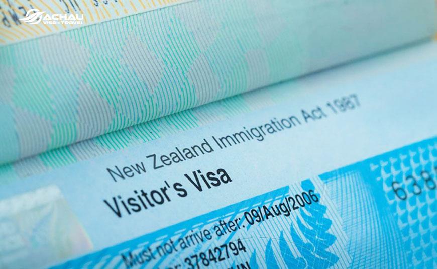 xin visa New Zealand du lịch