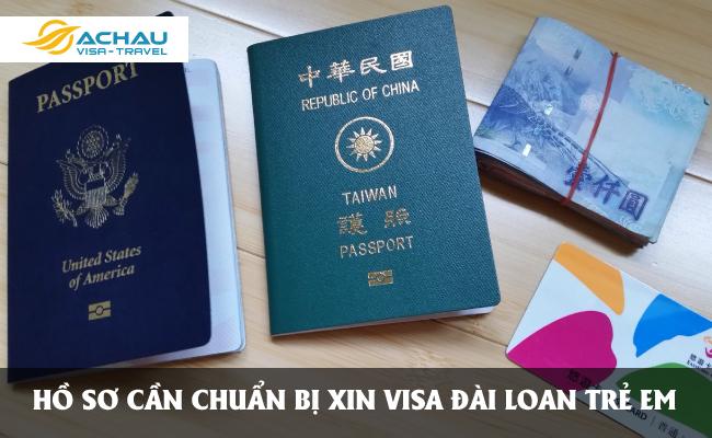 xin visa Đài Loan cho trẻ em được không?