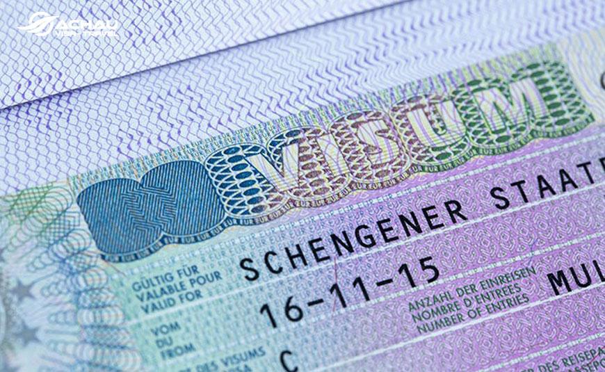 Hướng dẫn cách đọc thông tin trên Visa Schengen