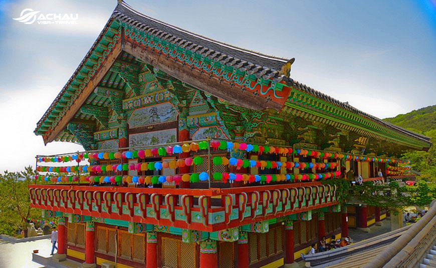 Hành hương đầu năm ở những ngôi chùa nổi tiếng ở Hàn Quốc 5