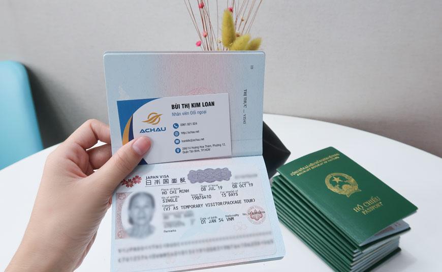 Chứng minh công việc xin visa du lịch Nhật Bản