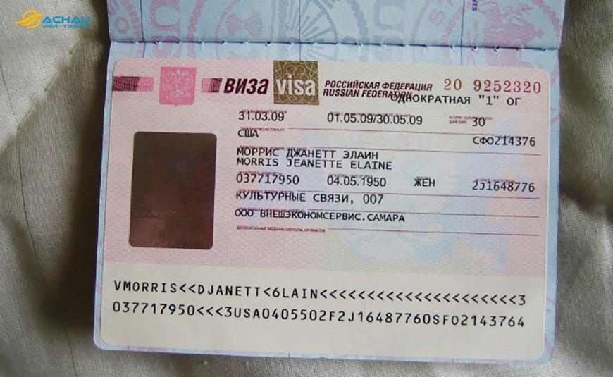 Có cần chứng minh tài chính khi xin Visa du lịch Nga không?
