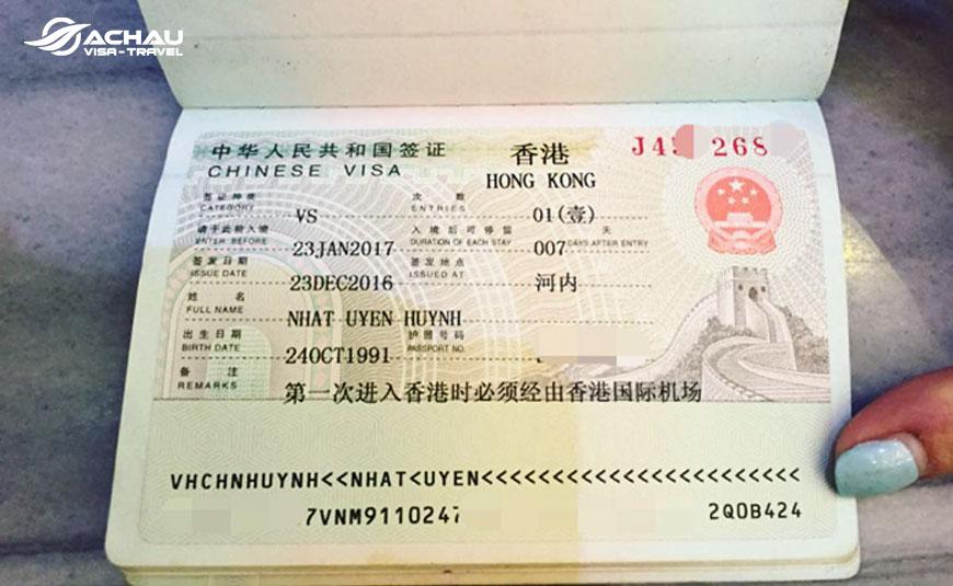 Công dân Việt Nam có được miễn visa Hong Kong không? 2