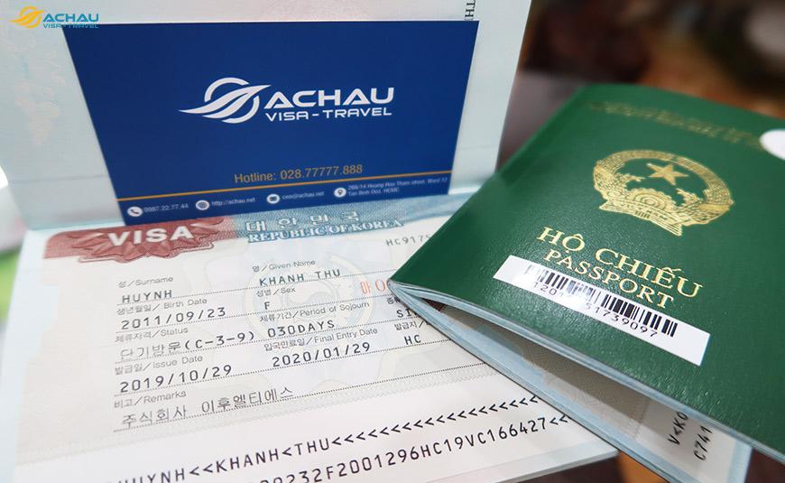 Dịch vụ xin visa Hàn Quốc gấp, tỉ lệ thành công cao 3